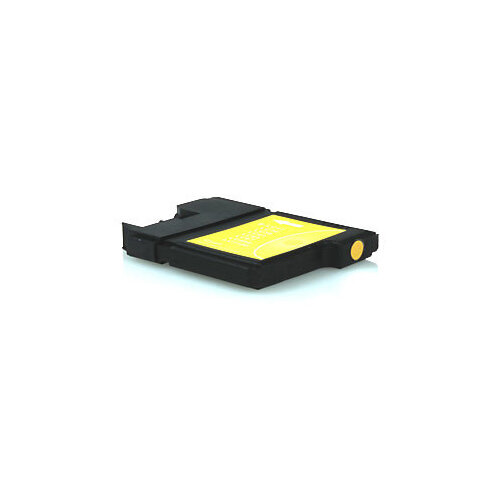 Compatible Brother LC1100 / LC980 Yellow 10.6ml 300 Pages Ink Cartridge