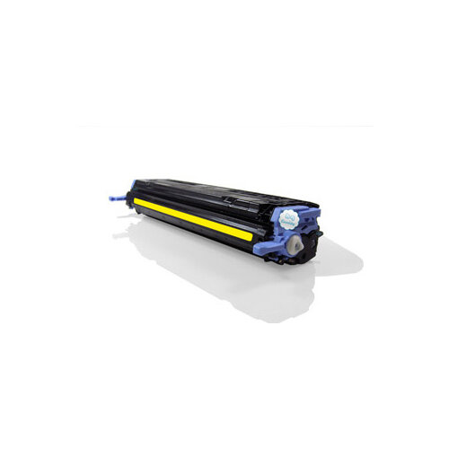 Compatible HP Q6002A / Canon 707 Yellow 2000 Page Yield Laser Toner Cartridge