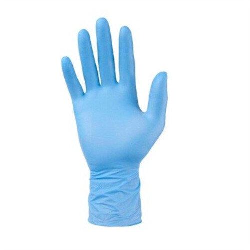 Nitrile Powder Free Blue Gloves Pack of 100 - Medium - Ref:UG60203M