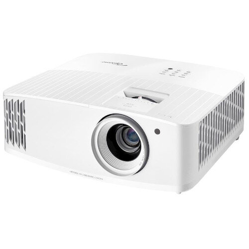 Optoma UHD30 Projector DLP 4K UHD 3840x2160 - Lumens 3400, 2 HDMI Inputs, 15000h Lamp Life - Ultra HD Gaming, Live Sports, TV Shows and Movies - White
