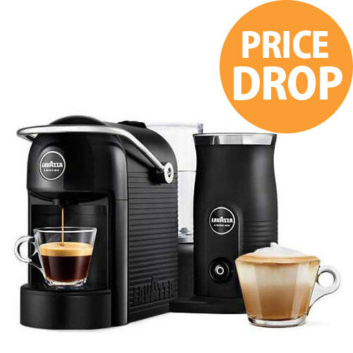 Lavazza A Modo Mio Jolie &Milk Capsule Coffee Machine with Milk Frother Black