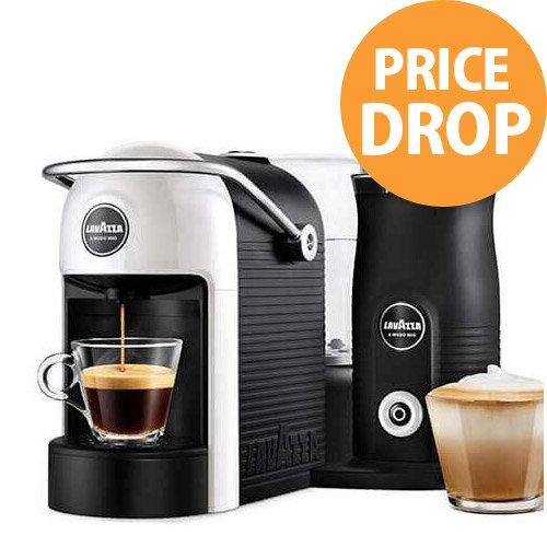 Lavazza A Modo Mio Jolie &Milk Capsule Coffee Machine with Milk Frother White