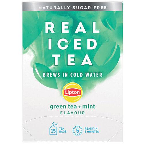 Lipton Cold Brew Green Tea Mint Pack of 15 67737998