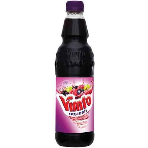 Vimto Squash 725ml Fruit Juice Drink Bottle Pack of 12 1000P