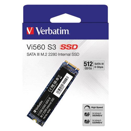 Verbatim Vi560 S3 M.2 SSD 512GB 49363