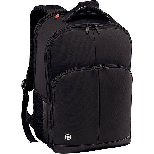 Wenger Link 16in Laptop Backpack with Tablet Pocket - Black 601072