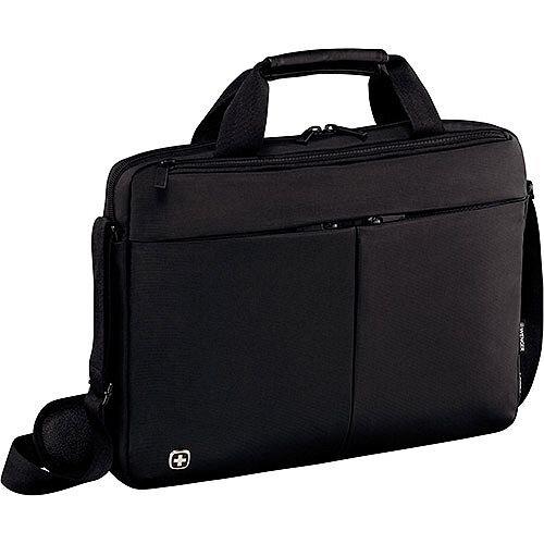 Wenger Format 14in Laptop Slimcase Bag with Tablet Pocket - Black 601079