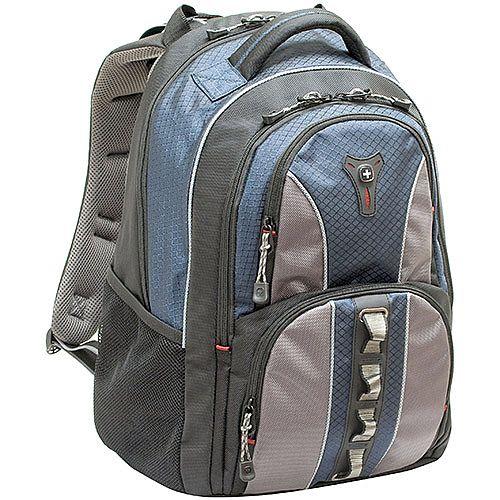 Wenger Cobalt 16in Laptop Backpack Black &Blue 600629