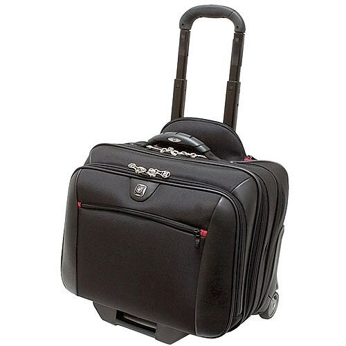"""Wenger Triple Gusset 2 Piece Business Luggage Case Up to 17"""" GA-7001-02F00"""