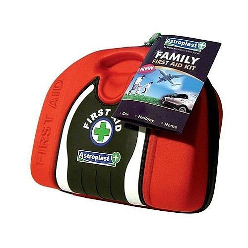 Astroplast Family First Aid Kit Pouch Red Up to 5 Person (Pack of 1) 1015016