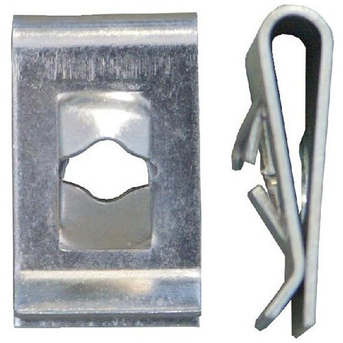 Wurth Sheet Metal Nut Type 2 - Nut-SHT-BMW-(A3A)-L19,8MM-D4,8MM Ref. 05000537 PACK OF 100