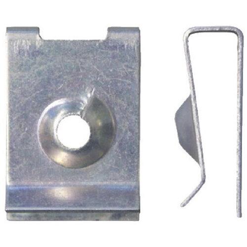 Wurth Sheet Metal Nut Type 3 - Nut-SHT-VW/AUDI-(A3A)-L22,6MM-D4,8MM Ref. 050013576 PACK OF 100