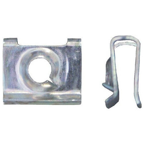 Wurth Sheet Metal Nut Type 3 - Nut-SHT-VW/AUDI-(A3A)-L9,2MM-D3,9MM Ref. 050013704 PACK OF 100