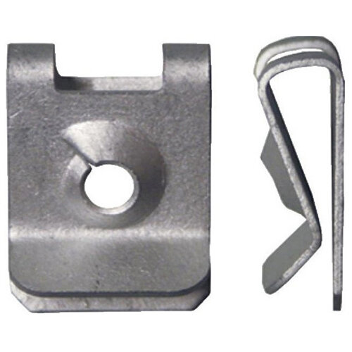 Wurth Sheet Metal Nut Type 3 - MP-MB-NUT-SHT-ST-MKB-2.0-SILVER-4,8MM Ref. 0501104067 PACK OF 100