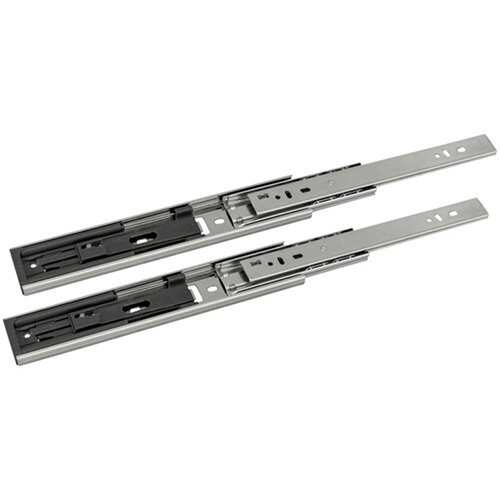 Wurth Ball-bearing Guide Full Extension, Soft Close, 25kg - GUID-BALLBEAR-FE-ABSORB-25KG-500MM Ref. 0684530304 PACK OF 10