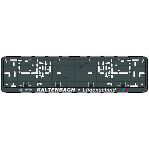 Wurth Number Plate Holder Klapp-Fix, printed - NPH-PRNT-KLAPPFIX-4COL-520MM Ref. 082564