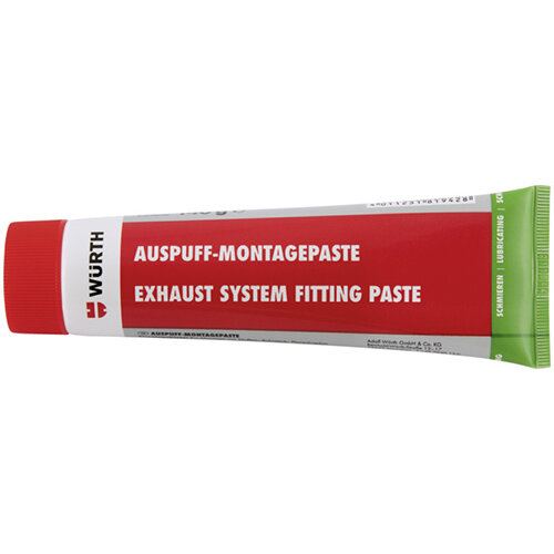 Wurth Exhaust Assembly Paste - EXHSTREPCOMPD-ASSEMBLYPASTE-TUBE-140G Ref. 0890100045