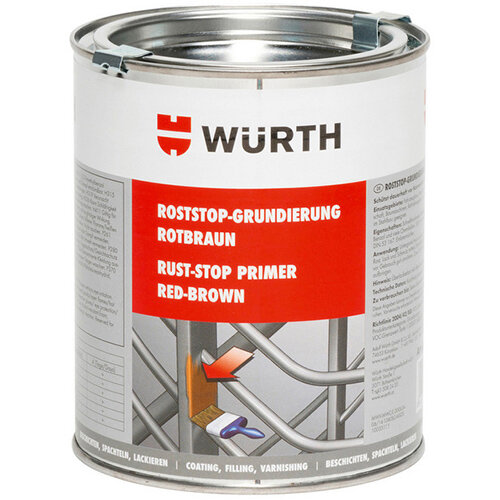 Wurth Rust Stop Primer - PRIM-RUSTSTOP-750ML Ref. 0890191 PACK OF 6