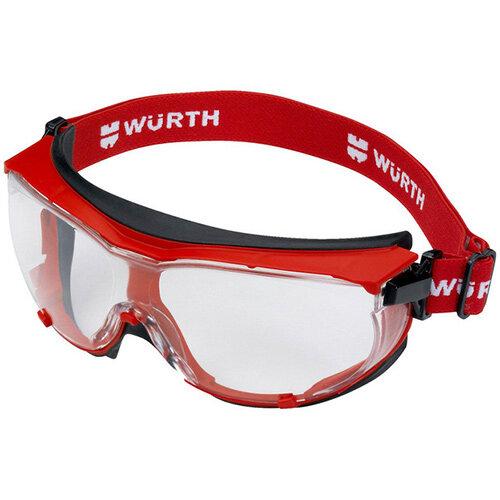 Wurth Full-vision Goggles WEGA - FULLVIEWGLS-WEGA-CLEAR Ref. 0899102116