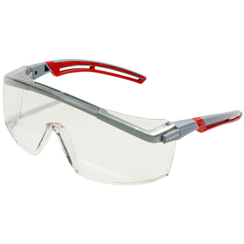 Wurth Safety Goggles FORNAX Plus - SAFEGLS-(FORNAX-PLUS)-CLEAR Ref. 0899102242