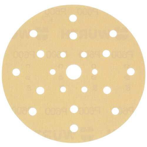 Wurth Vehicle Dry Sandpaper Disc Arizona Perfect - DSPAP-HOKLP-MULTIHOLE-P500-D150MM Ref. 5506353050 PACK OF 100