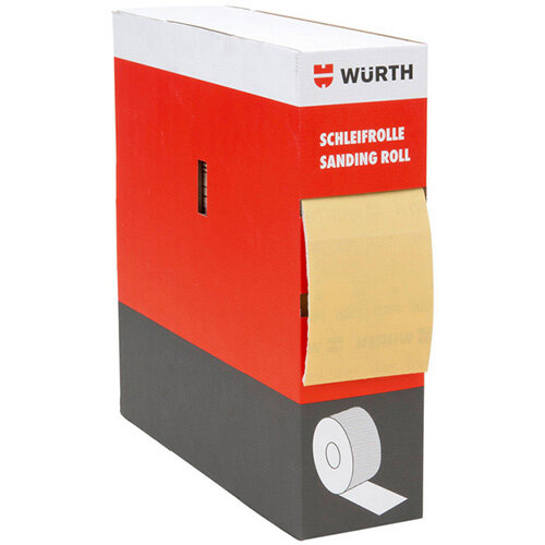 Wurth Vehicle Dry Sandpaper Arizona Perfect soft - DSPAP-ROLL-P500-115MMX25M Ref. 5506442150
