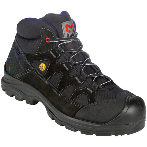 Wurth Comfort S2 FLEXITEC ESD Safety Boots - Boot Comfort FLX S2 Black 47 Ref. M021021047