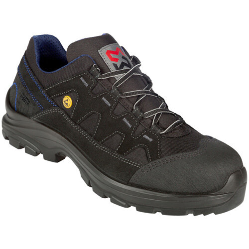 Wurth Comfort S2 FLEXITEC ESD Safety Shoes - Shoe Comfort FLX S2 ESD Black 41 Ref. M417013041
