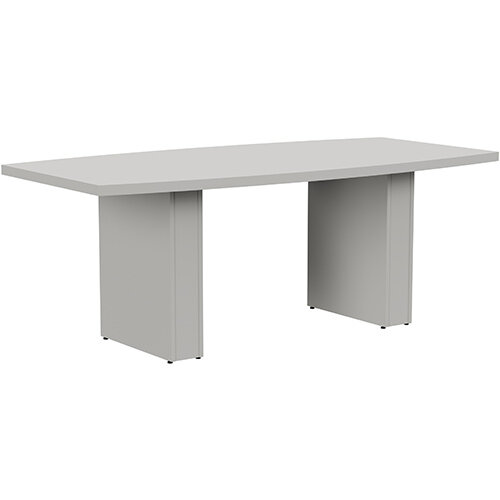 Grand 2000mm Grey Boat-Shaped Boardroom &Meeting Table