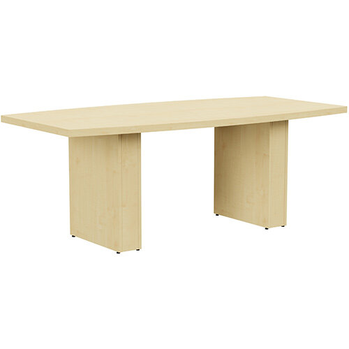 Grand 2000mm Maple Boat-Shaped Boardroom &Meeting Table