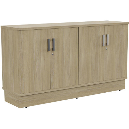 Grand 4 Doors Credenza Cabinet W1605xD420xH895mm Urban Oak