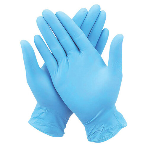 Nitrile Gloves Medium Pack of 100 WX07356