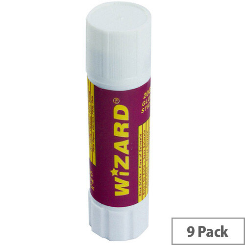Glue Stick Medium 20gm WX10505 Pack of 9