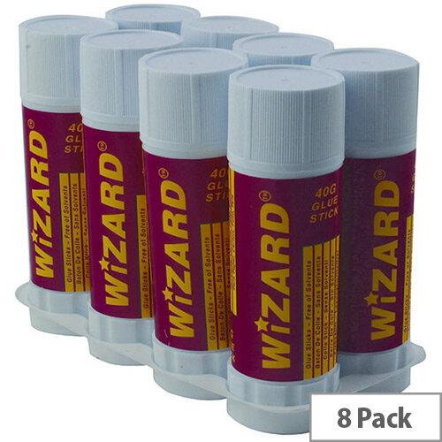 Glue Stick Large 40gm WX10506 Pack of 8