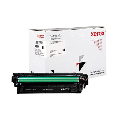 Xerox Everyday HP CE260X Laser Toner Cartridge Black 006R04146