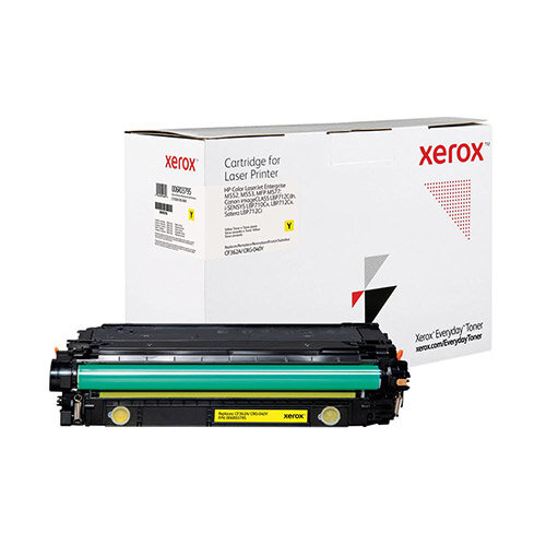 Xerox Everyday HP CF362A/CRG-040Y Laser Toner Cartridge Yellow 006R03795