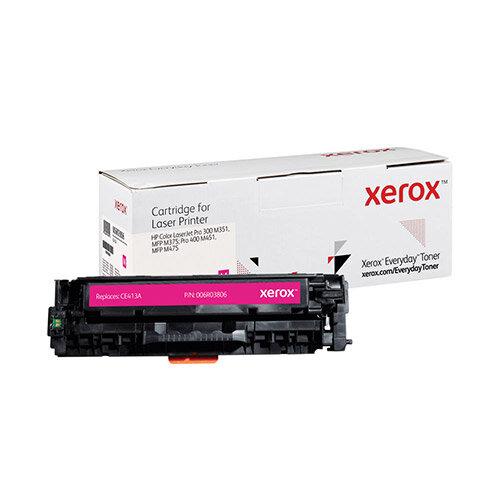 Xerox Everyday HP CE413A Laser Toner Cartridge Magenta 006R03806
