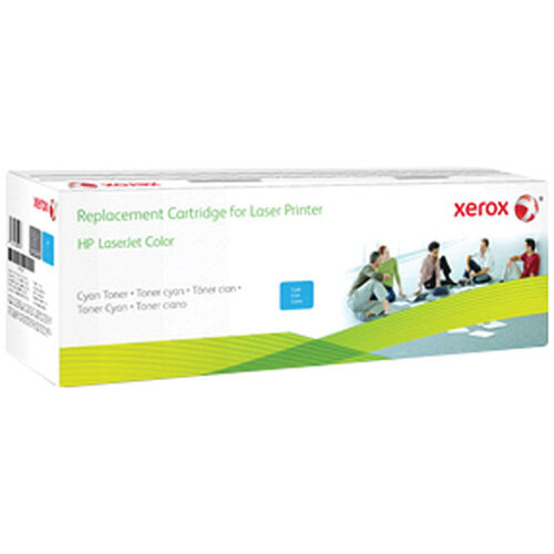Xerox CF411X Cyan Compatible Laser Toner Cartridge 006R03552