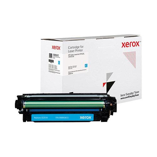 Xerox Everyday HP CE251A Laser Toner Cartridge Cyan 006R03672