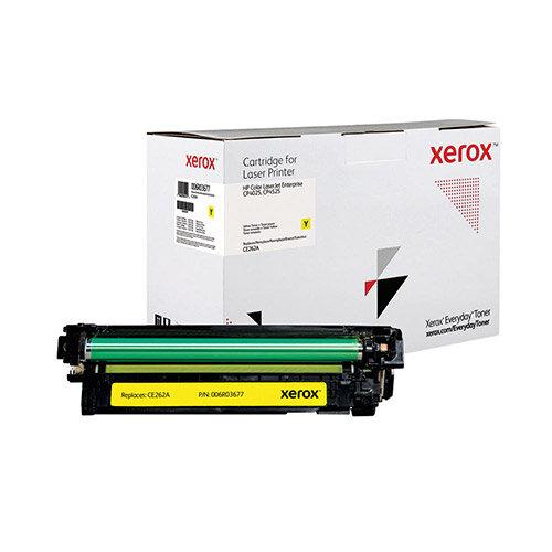 Xerox Everyday HP CE262A Laser Toner Cartridge Yellow 006R03677