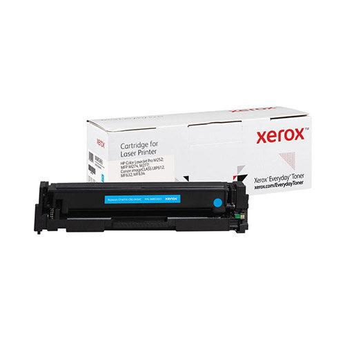 Xerox Everyday HP CF401X/CRG-045HC Laser Toner Cartridge Cyan 006R03693