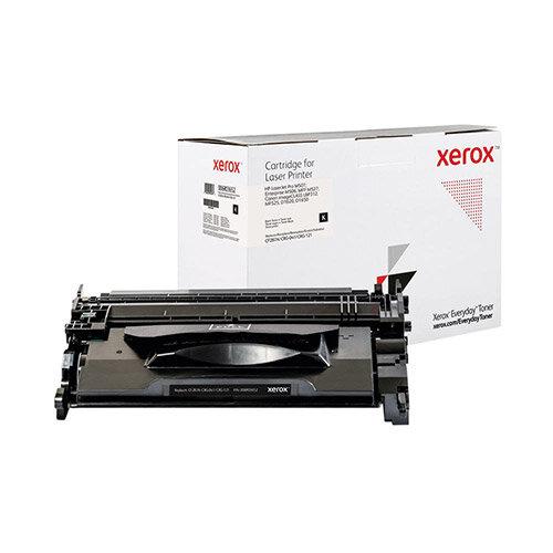 Xerox Everyday HP CF287A/CRG-041/CRG-121 Laser Toner Cartridge Black 006R03652
