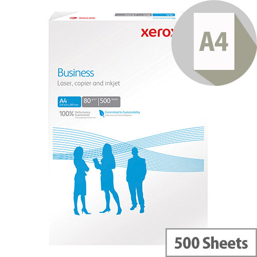 Xerox A4 White 80gsm 4 Hole Punched Paper Pack of 500