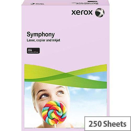 Xerox Symphony Medium Lilac A4 Card Paper 160gsm Pack of 250