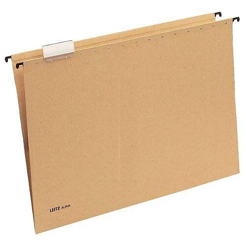Leitz Alpha Suspension File A3 Pack of 25