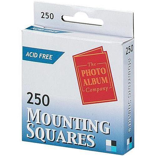 Photo Album Company Adhesive Mounting Squares Pack 250