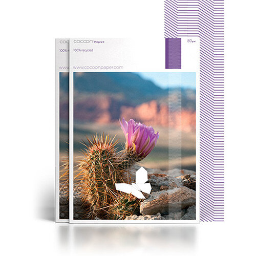 Cocoon Pre-Print 100% Recycled Fsc8 SRA1 640 X 900mm 90gsm Untrimmed Commercial Printing Paper Ream of 250