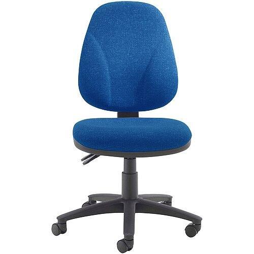 Arista Concept High Back Asynchro Tilt Task Operator Office Chair Blue KF03460