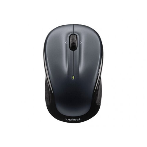 Logitech M325 - Color Collection Limited Edition - mouse - optical - 3 buttons - wireless - 2.4 GHz - USB wireless receiver - grey