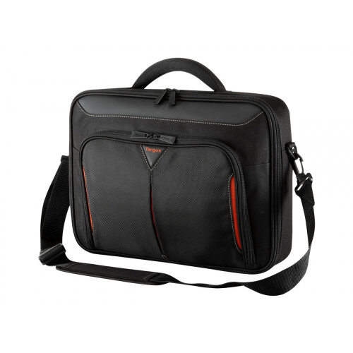 """Targus Classic+ 13 - 14.1"""" / 33 - 35.8cm Clamshell Case - Notebook carrying case - Laptop Bag - 14.3"""" - black"""